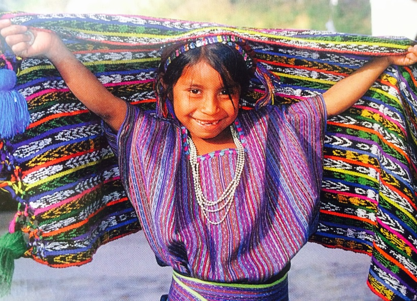 Guat Girl with wrap