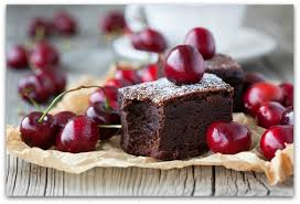 cake and cherries