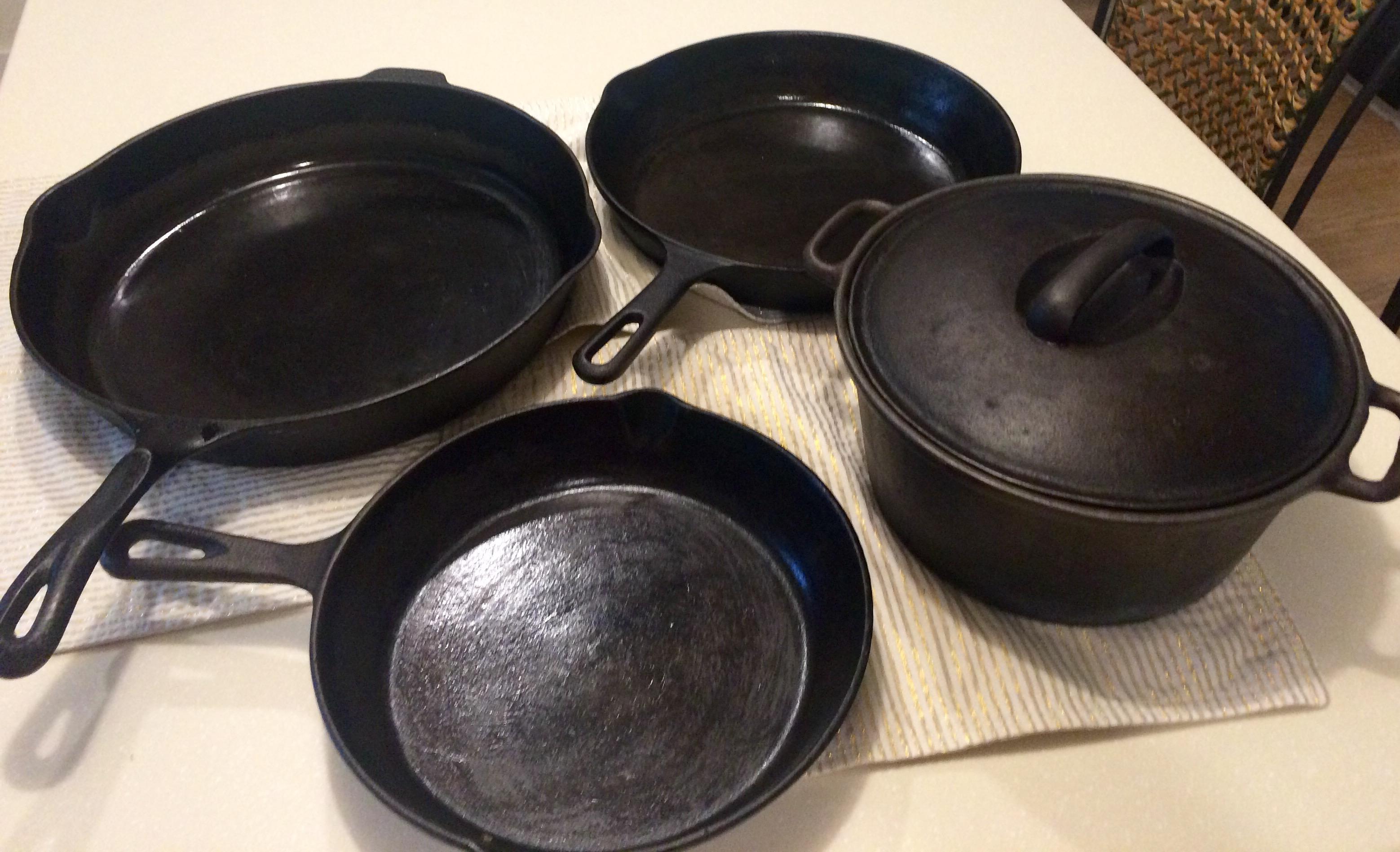 castiron pans