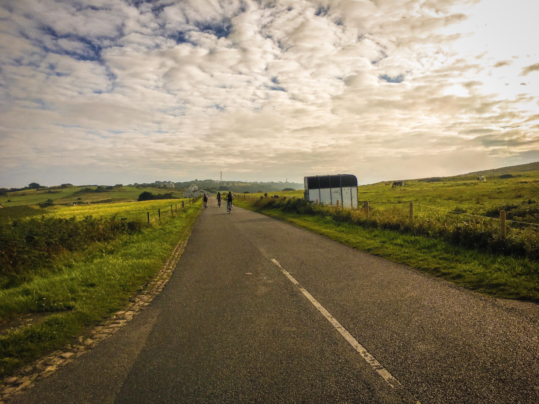 Alderney Island biking