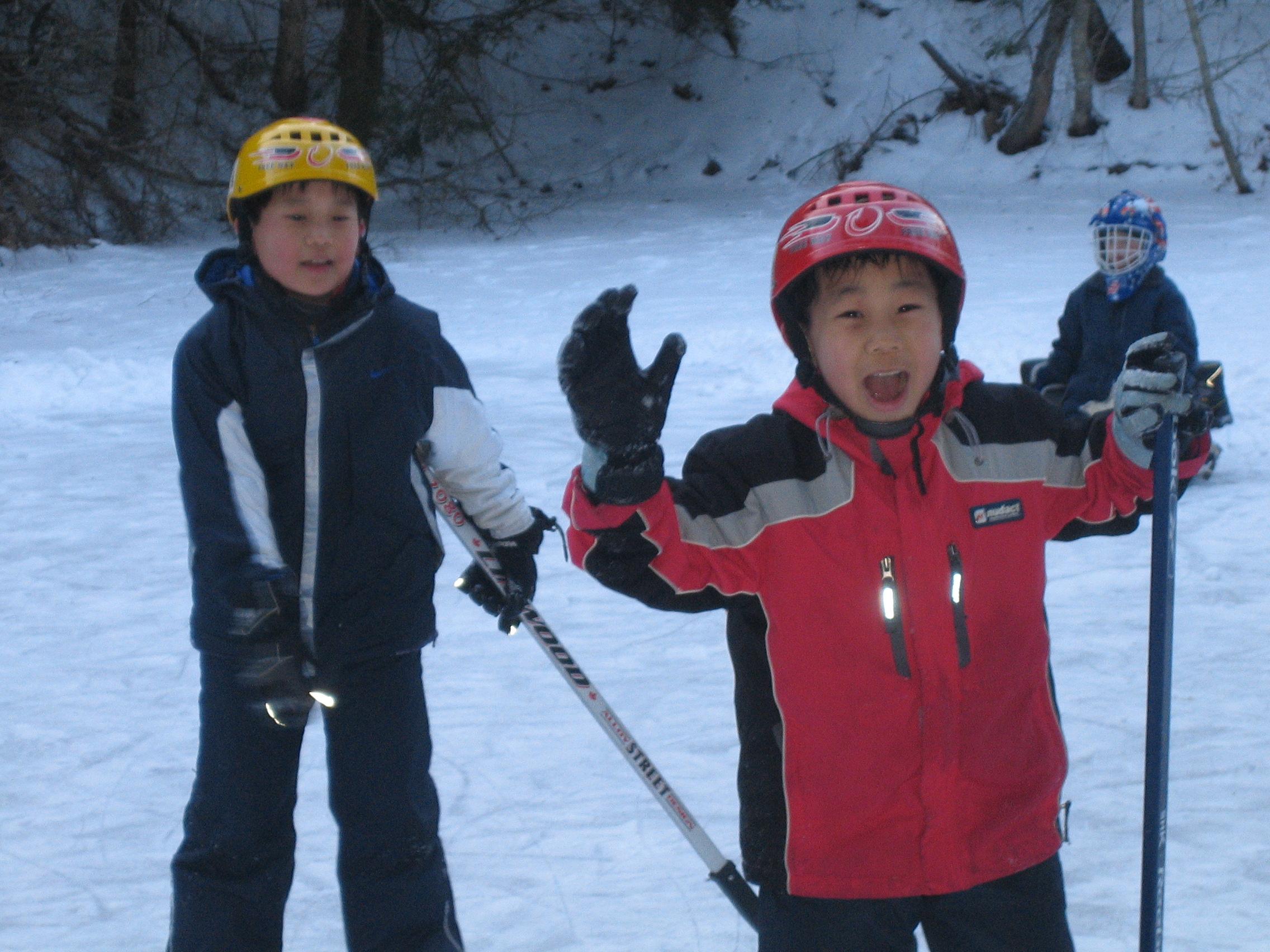 Pond Skating 5