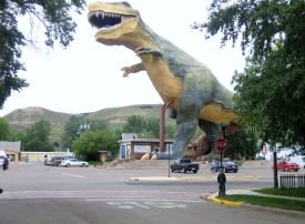 T-Rex Drumhellar